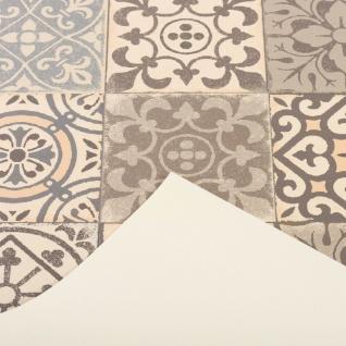 Vinyl Teppich Küchenläufer Evora Fliesenoptik Beige - Vorschau 3