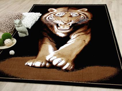 Designer Teppich Safari Tiger