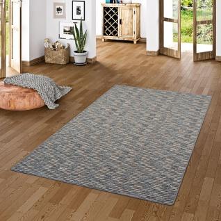 Streifenberber Teppich Modern Stripes Anthrazit