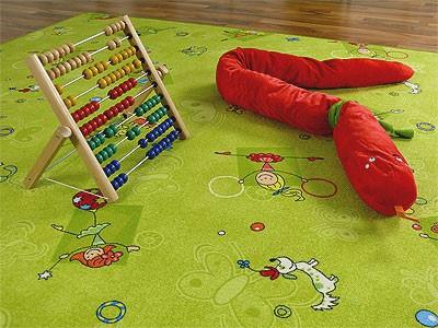 Kinder Spielteppich Grün Girls - Vorschau 4