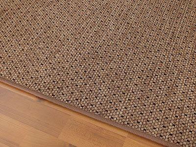 Teppich Bentzon Flachgewebe Braun Schwarz Trend
