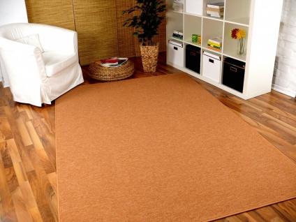 Feinschlingen Velour Teppich Strong Orange