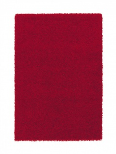 Astra Teppich Hochflor Shaggy Palermo Rot