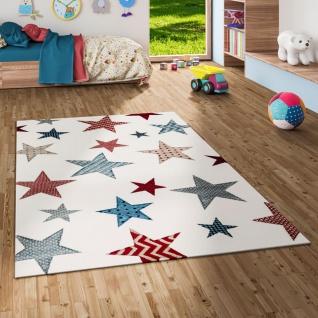 Kinder und Jugend Teppich Maui Creme Sterne Bunt