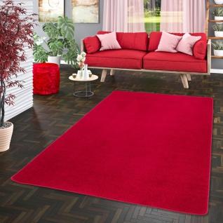 Trend Velours Teppich Joy Rot