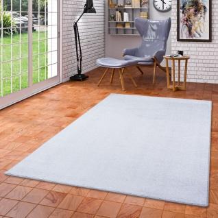 Luxus Soft Velours Teppich Shine Silbergrau