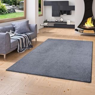 Luxus Soft Velours Teppich Shine Anthrazit