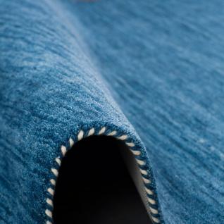 Natur Teppich Indo Gabbeh Ella Blau - Vorschau 3