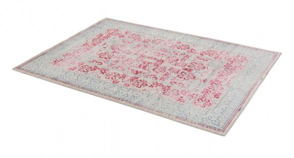 Orient Vintage Designer Teppich Schöner Wohnen Shining Bordüre Türkis Pink