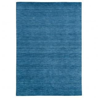 Natur Teppich Indo Gabbeh Ella Blau - Vorschau 5