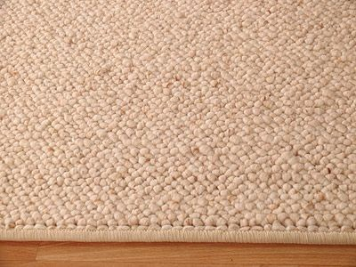 Natur Wolle Teppich Berber Malta Beige Sonderposten Kaufen Bei