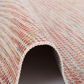 In- und Outdoor Teppich Flachgewebe Carmel Terrakotta Meliert - Vorschau 3