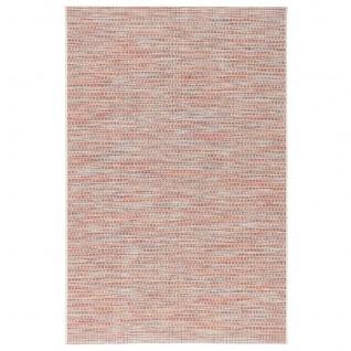 In- und Outdoor Teppich Flachgewebe Carmel Terrakotta Meliert - Vorschau 5
