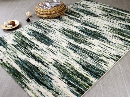 Designer Teppich Arizona Grün Blau Verlauf