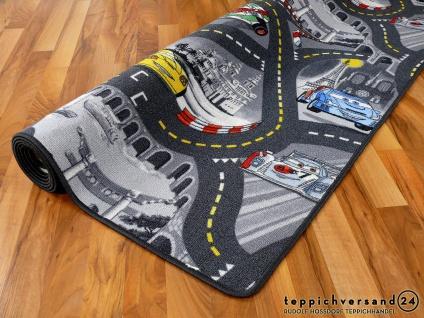 Kinder Spielteppich Disney Cars Grau in 24 Größen - Vorschau 3