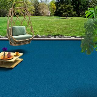 Luxus Designer Kunstrasen Miami Blau
