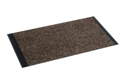 Läufer Basalt Braun 90 cm Breite in 20 Größen
