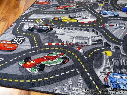 Kinder Spielteppich Disney Cars Grau in 24 Größen - Vorschau 4