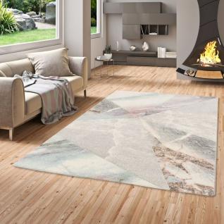 Designer Teppich Maui Pastell Marmor Optik Trend