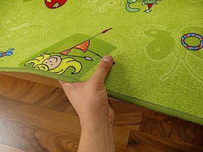 Kinder Spielteppich Grün Girls - Vorschau 3