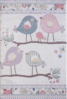 Kinder und Spielteppich Softstar Kids Singende Vögel Pastell Bunt
