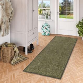 Läufer Küchenläufer Teppich Superclean Grün