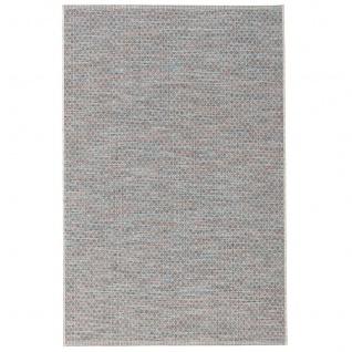 In- und Outdoor Teppich Flachgewebe Carmel Blau Meliert - Vorschau 5