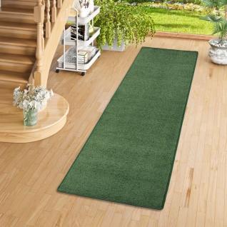 Trend Velours Läufer Teppich Joy Grün