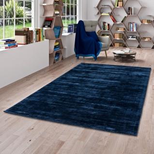 Luxus Designer Teppich Roma Dunkelblau