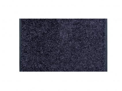 Läufer Proper Tex Uni Blau Grau 90 cm Breite in 20 Größen