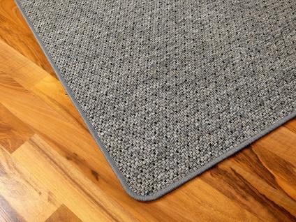 Teppich Bentzon Flachgewebe Grau Blau Schwarz Trend
