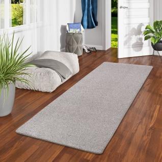 Luxus Velours Teppich Läufer Laguna Soft Grau