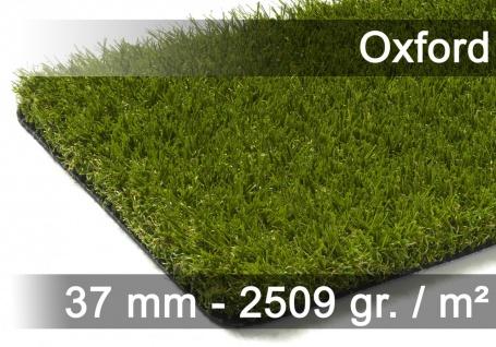Luxus Kunstrasen Rasenteppich Oxford Grün