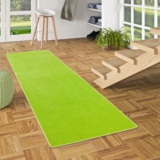Trend Velours Läufer Teppich Joy Grasgrün