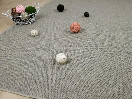Natur Teppich Wolle Bentzon Flachgewebe Braun