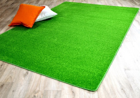 Trend Velours Teppich Joy Grasgrün
