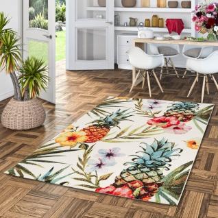 Designer Teppich Faro Tropical Bunt