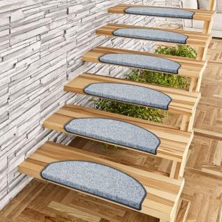 Trend Nadelfilz Stufenmatte Bent Grau (halbrund) einzeln oder im 15er Set