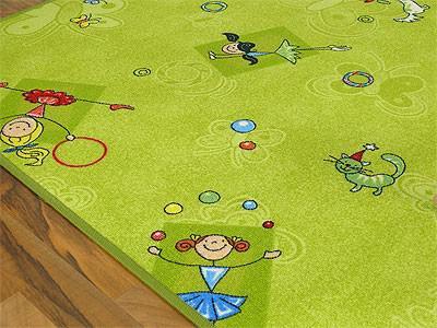 Kinder Spielteppich Grün Girls - Vorschau 2