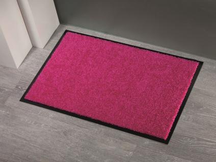 Fußmatte Sauberlauf Power Tex Uni Pink