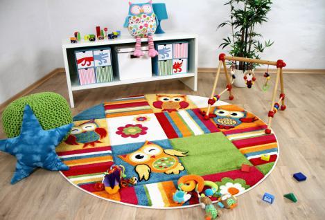 teppich rund bunt g nstig online kaufen bei yatego. Black Bedroom Furniture Sets. Home Design Ideas