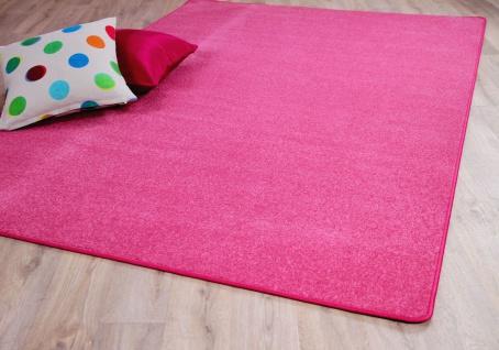 Trend Velours Teppich Joy Rosa