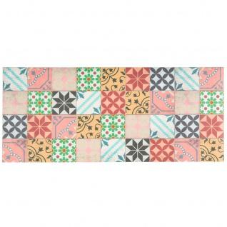 Vinyl Teppich Küchenläufer Evora Mosaik Fliesenoptik Bunt - Vorschau 5
