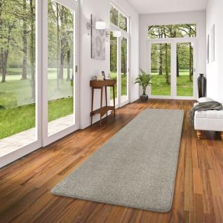 Luxus Velours Teppich Läufer Laguna Soft Stone