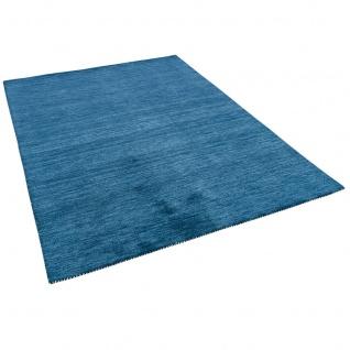 Natur Teppich Indo Gabbeh Ella Blau - Vorschau 2