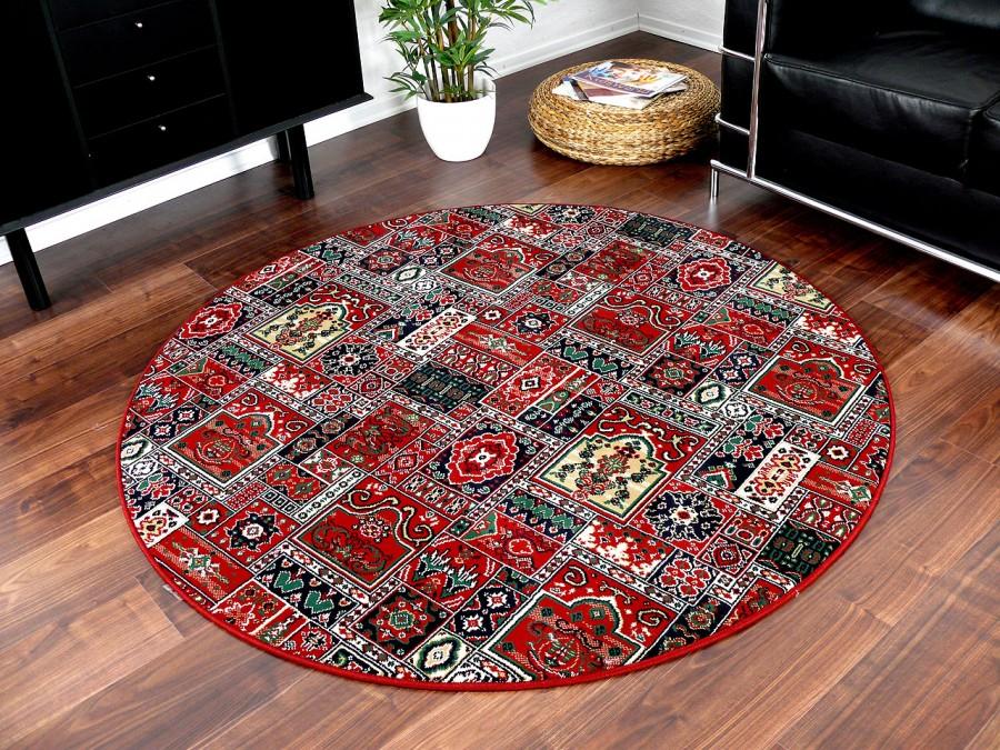 Orient Teppich Empire Rot Rund In 7 Grossen Kaufen Bei Teppichversand24