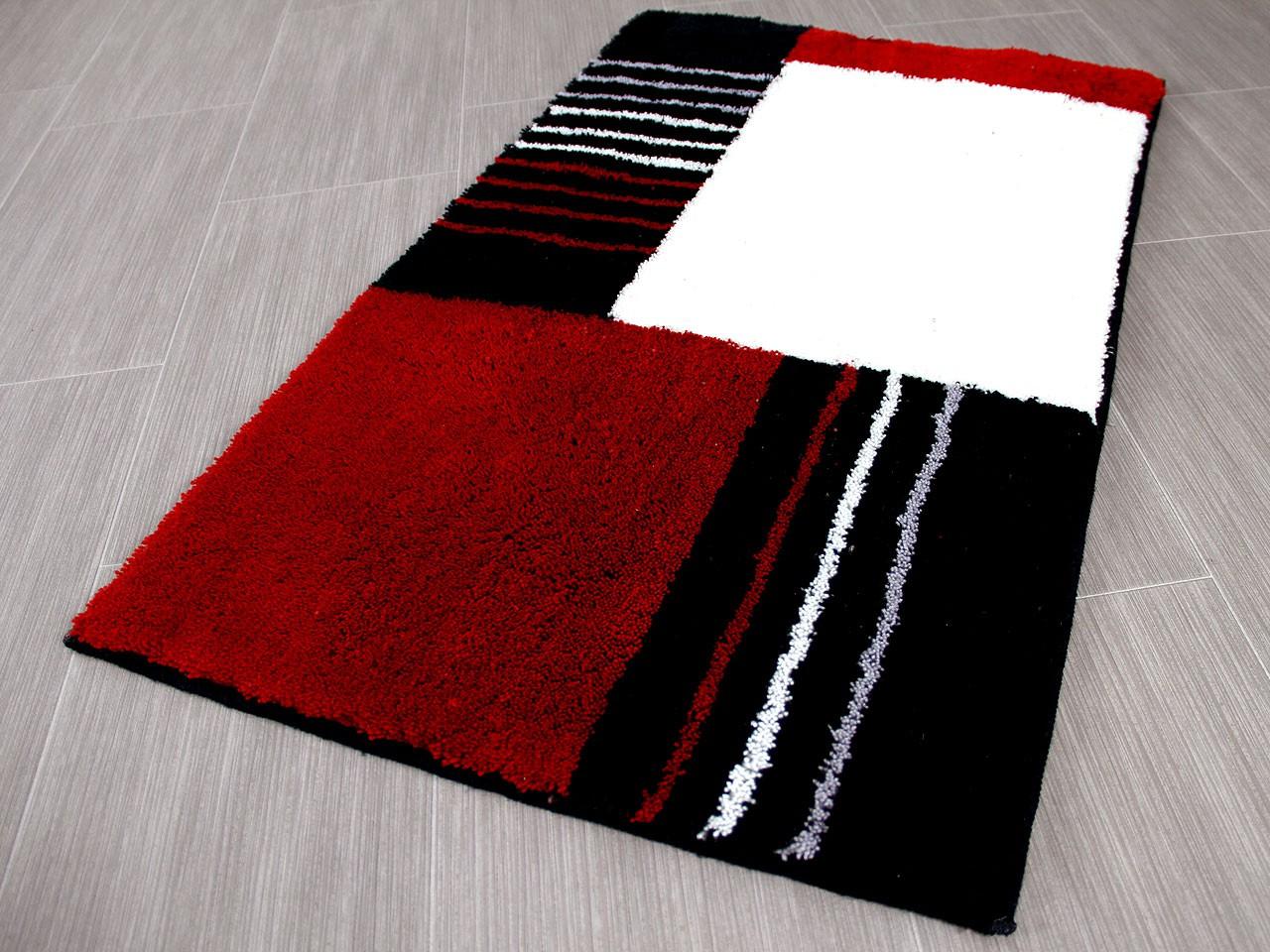Pacific Badteppich Jemo Rot Modern Abverkauf Kaufen Bei