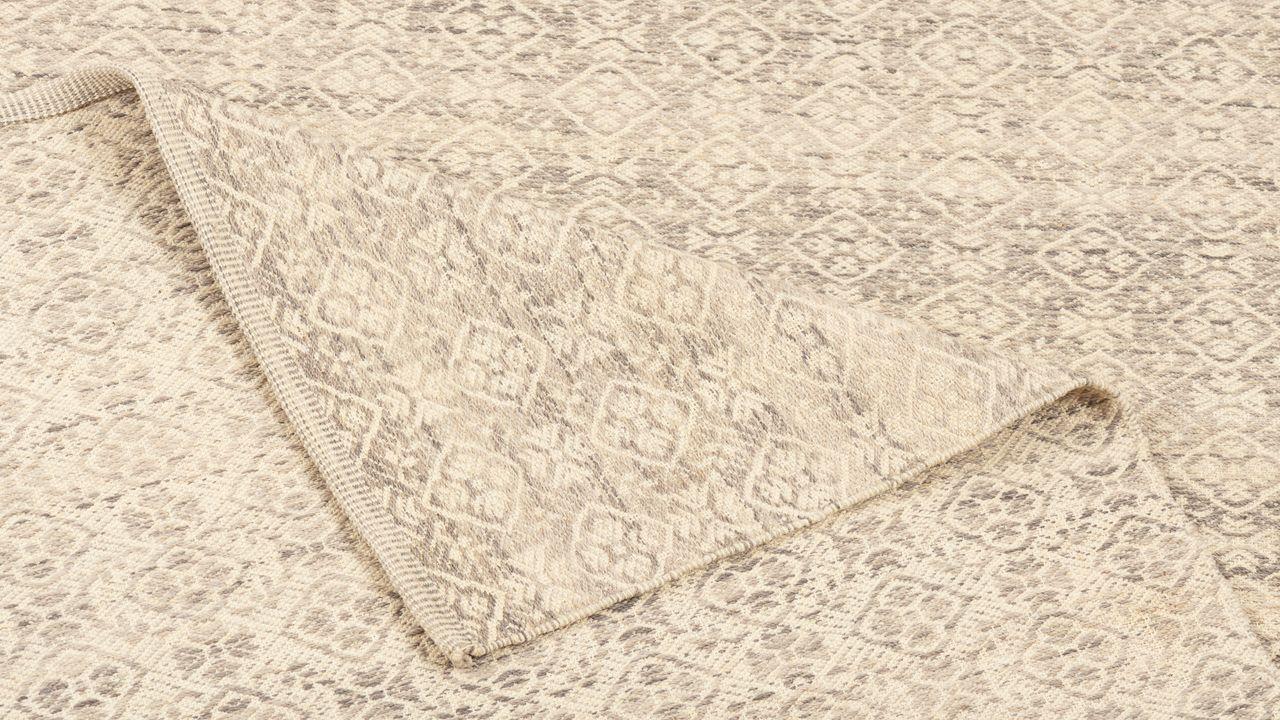 Natur Teppich Kelim Toscana Vintage Grau Beige Kaufen Bei