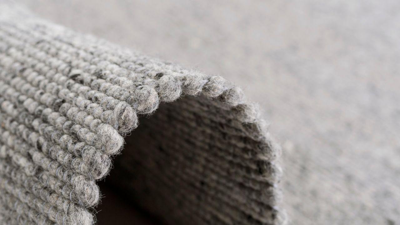 Natur Teppich Wolle Beidseitig Island Grau Kaufen Bei Teppichversand24
