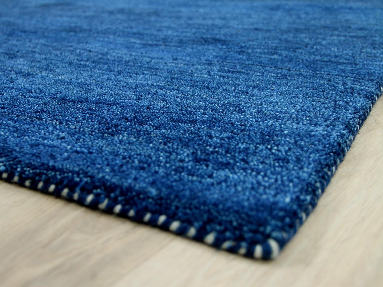 Natur Teppich Indo Gabbeh Ella Blau Kaufen Bei Teppichversand24